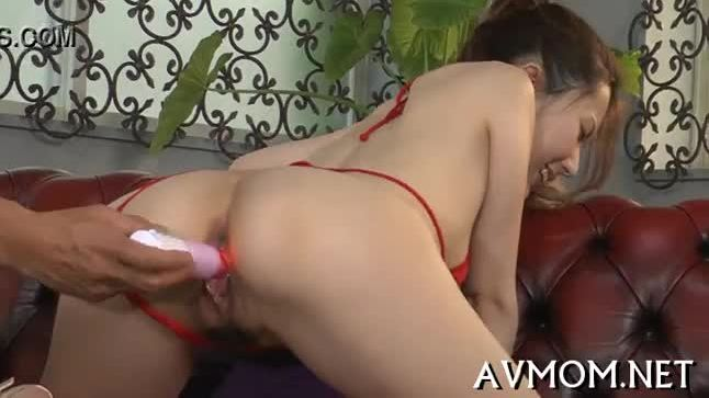 Nice-looking mommy loves her mouth on cock