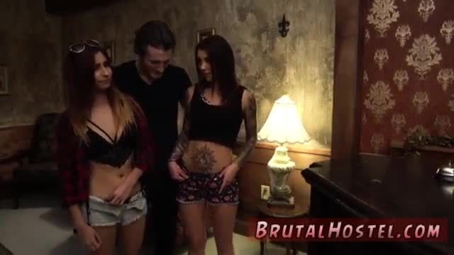Extreme flexible anal excited young tourists felicity feline and jade